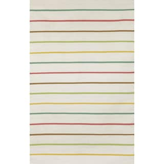 Colored Stripe Outdoor Rug (8'3 x 11'6)