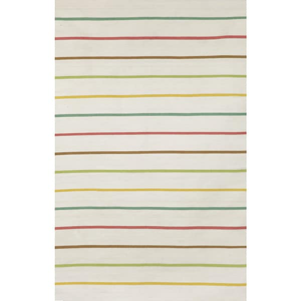 Colored Stripe Outdoor Rug (8'3 x 11'6) - 8'3 x 11'6