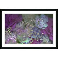 Zhee Singer 'Cream Scented Bloom' Framed Fine Art Print