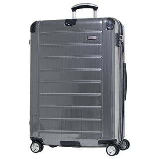 Ricardo Beverly Hills Roxbury 2.0 Brushed Silver 29-inch 4-wheel Spinner Upright Suitcase