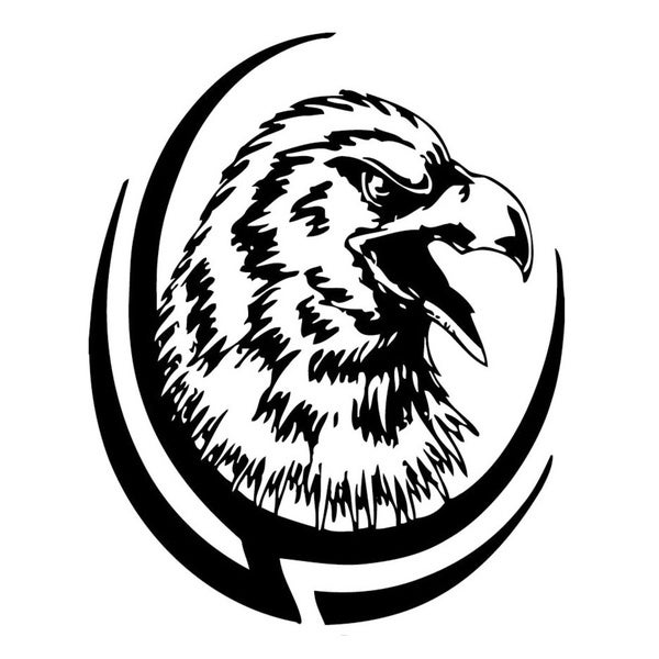 shop tribal eagle vinyl wall art free shipping on orders over 45 Bird of Prey Ship Bridge tribal eagle vinyl wall art