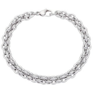 Stainless Steel Multi-Link Cable Chain Bracelet