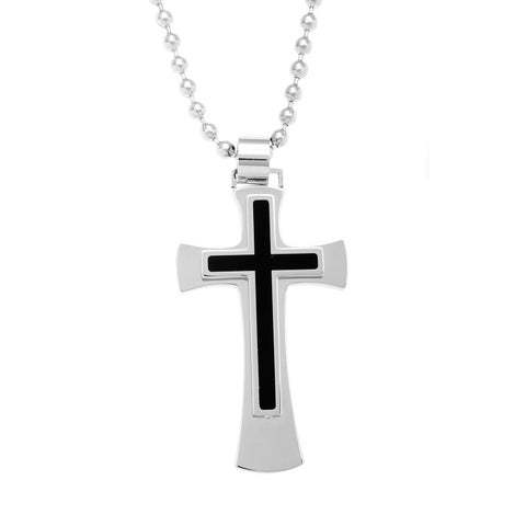 Stainless Steel Cross Necklace
