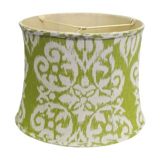 Green Ikat Lamp Shade