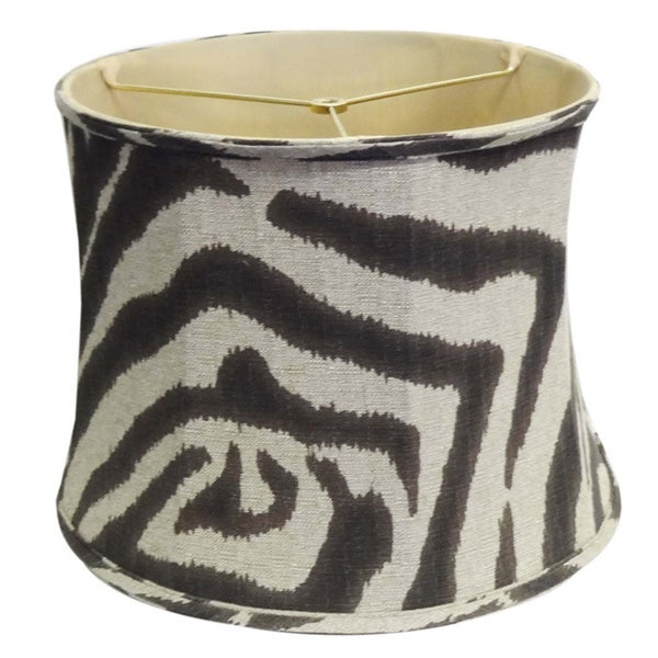 Shop zebra print lamp shade free shipping today overstock zebra print lamp shade mozeypictures Choice Image