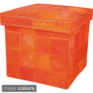 Barclay Butera Medley Storage Cube by Nourison (17 x 17 x 16)