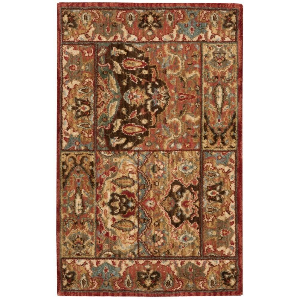 Nourison Living Treasures Multicolor Rug (1'9 x 2'9) (1'9...