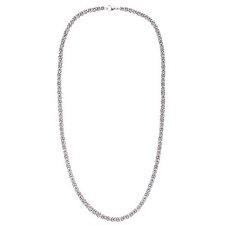 Stainless Steel Byzantine Chain Necklace
