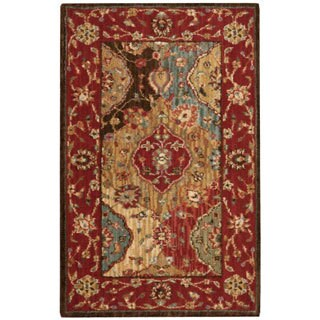 Nourison Living Treasures Multicolor Rug (1'9 x 2'9)
