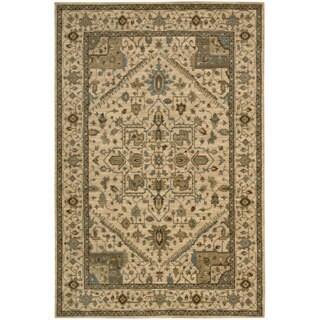 Nourison Living Treasures Beige Rug (1'9 x 2'9)