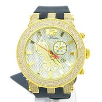 Joe Rodeo Men's 'Broadway' 5ct TDW Diamond Watch