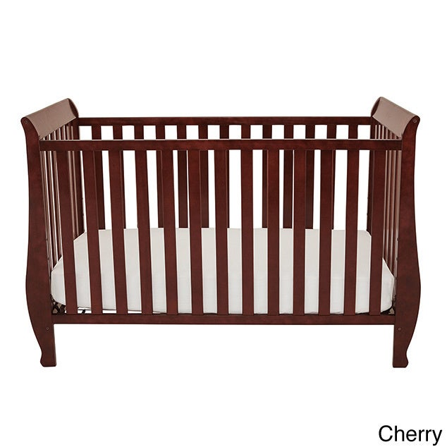 baby furniture for less. Mikaila Kailyn Convertible Crib (Option: Cherry) Baby Furniture For Less E