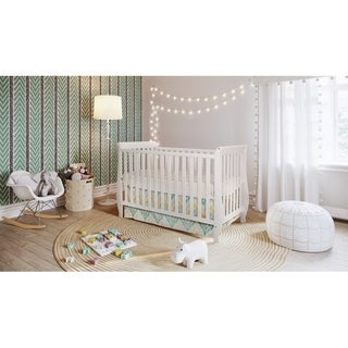 AFG Baby Furniture Mikaila Kailyn Wood Convertible Crib