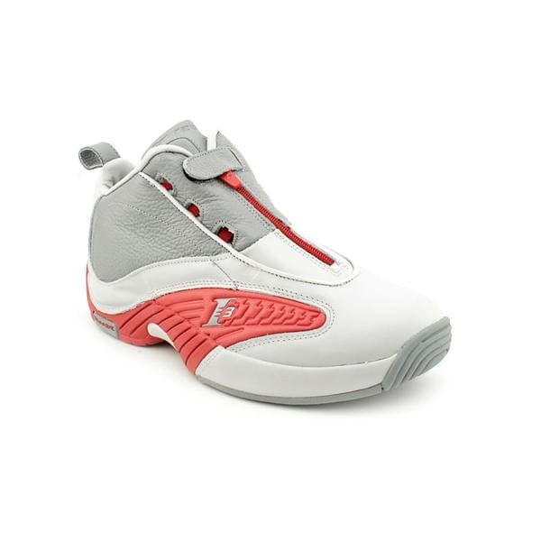 Reebok Men's 'Answer IV' Leather Athletic Shoe (Size 13 ...