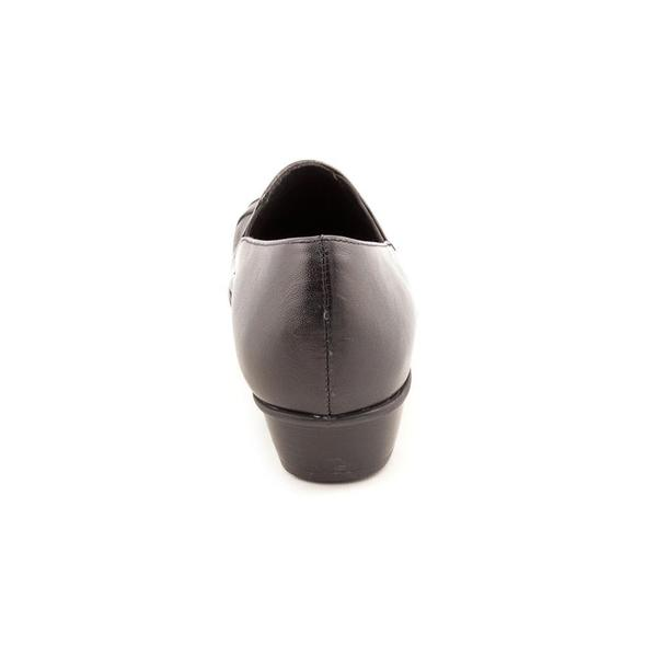 Cheryl' Leather Casual Shoes - Wide