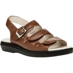 Women's Propet Breeze Walker Teak Brown Smooth