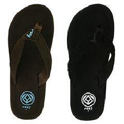 0417e5ffbbd5a Shop REEF Seaside Black  Black and Brown Sandals (Pack of 2 Pair ...