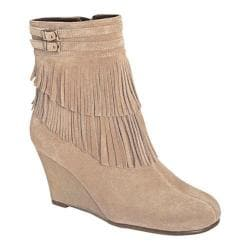 Women's Aerosoles Plumming Bird Taupe Suede