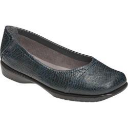 Women's Aerosoles Richmond Blue Snake Faux Leather