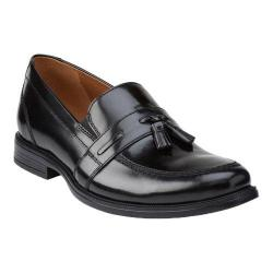 Men's Bostonian Kinnon Step Tassel Loafer Black Leather