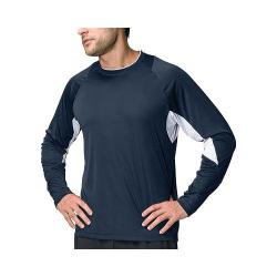 Men's Fila Core Long Sleeve Top Peacoat/White