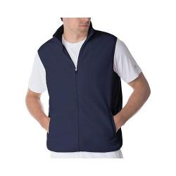 Men's Fila Fundamental Microfleece Vest Peacoat/Peacoat