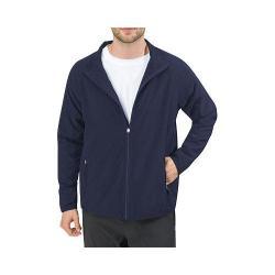 Men's Fila Fundamental Zip Front Jacket Peacoat/Peacoat