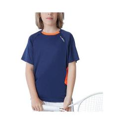 Boys' Fila Pro Mesh Back Crew Navy Power/Shocking Orange
