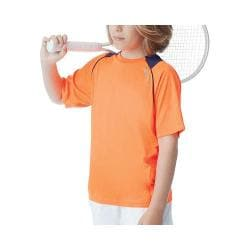 Boys' Fila Pro Raglan Crew Shocking Orange/Navy Power