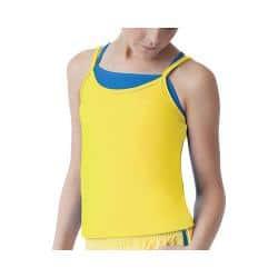 Girls' Fila Spirit Double Layer Tank Lemon Twist/Royal Spirit|https://ak1.ostkcdn.com/images/products/90/471/P17465103.jpg?impolicy=medium