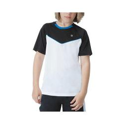 Boys' Fila Suit Up Crewneck White/Black/Imperial Blue