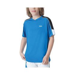 Boys' Fila Suit Up V Neck Imperial Blue/Black/White