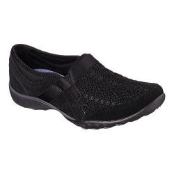 Women's Skechers Relaxed Fit Breathe Easy Our Song Slip On Black