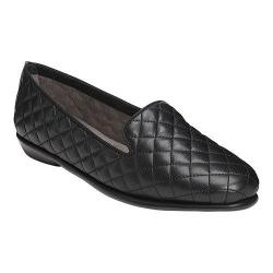 Women's Aerosoles Betunia Black Quilted Leather