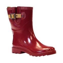 Women's Chooka Top Solid Mid Garnet