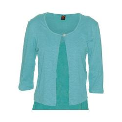 Women's Ojai Clothing Cardigan Top Pool