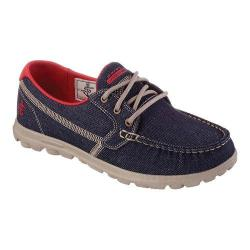 Women's Skechers On the GO Rage Boat Shoe Denim
