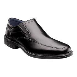 Men's Nunn Bush Calgary Slip-On Black Leather