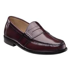 Men's Nunn Bush Kent Loafer Burgundy Leather