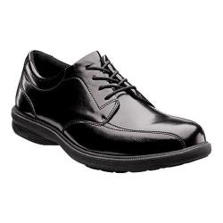 Men's Nunn Bush Mulberry St. Bicycle Toe Oxford Black Leather