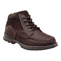 Men's Nunn Bush Pershing Moc-Toe Boot Brown Leather