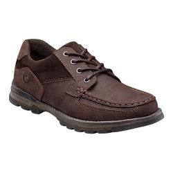Men's Nunn Bush Plover Moc-Toe Lace-Up Brown Leather