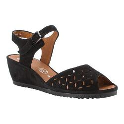 Women's ara Clair 37118 Black Suede