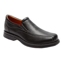 Men's Rockport Classics Revised Twin Gore Black Tumbled Pull Up Leather