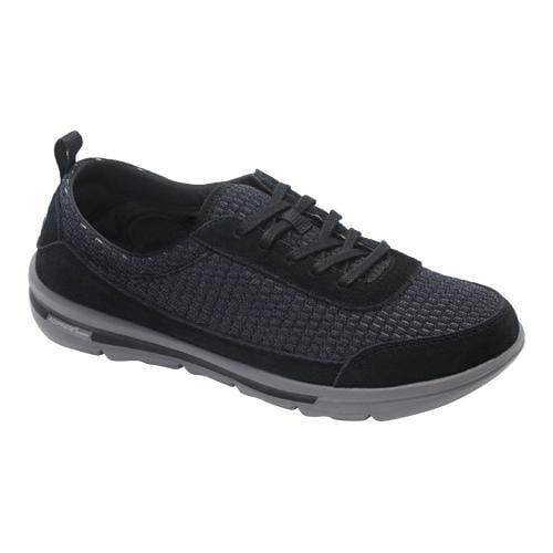 d5b43e28aa7f Shop Women s Rockport XCS Rock On Air Comfort Sneaker Black Suede Mesh  Washable - Free Shipping On Orders Over  45 - Overstock - 10383992