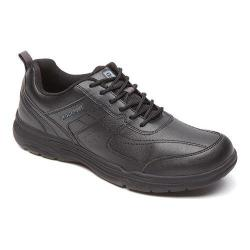 Men's Rockport State-O-Motion U-Bal Black Synthetic