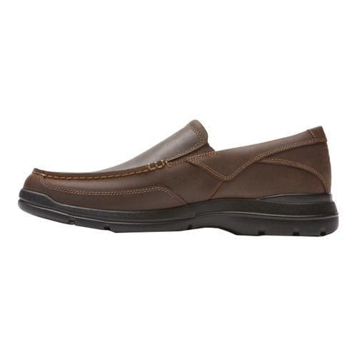 Men's Rockport City Play Two Slip On Dark Brown Leather - Thumbnail 2