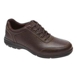 Men's Rockport City Play Two Perf Ubal Brown Leather