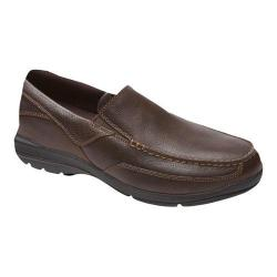 Men's Rockport City Play Two Slip On Brown Leather