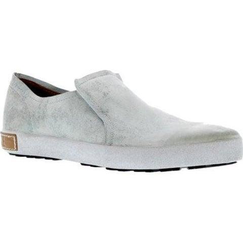 Women's Blackstone JL04 Slip On Sneaker White Metallic Full Grain Leather